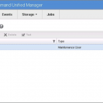 NetApp OCUM Manage Users Screen